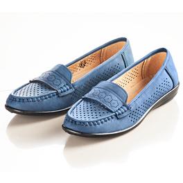 Chaussures, bleu marine