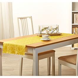 Chemin de table jaune 40x140