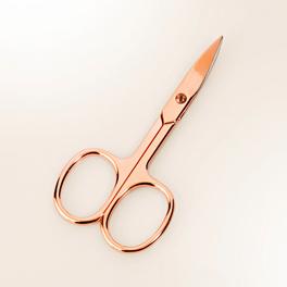 Ciseaux à ongles, coloris or rosé