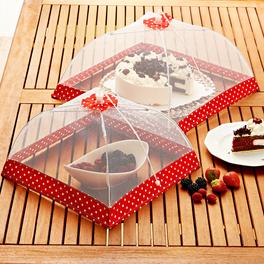 Cloche, rouge-blanc 40 x 40 cm
