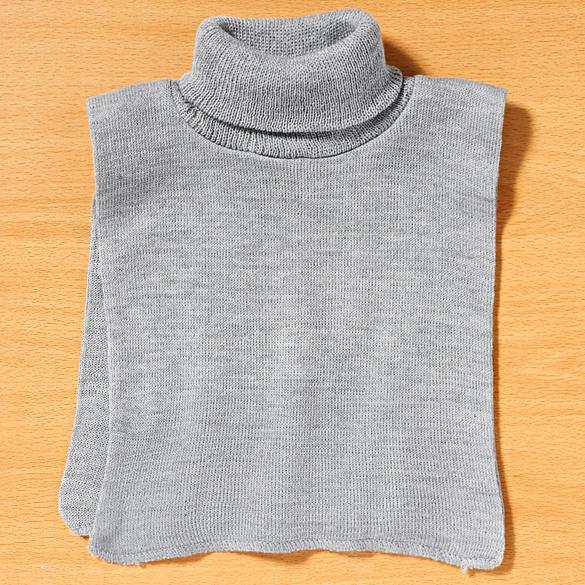 Col roulé, gris