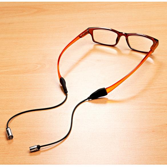 Cordon à lunettes aimanté