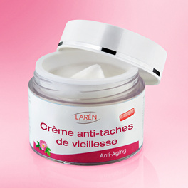 Crème anti-taches de vieillesse