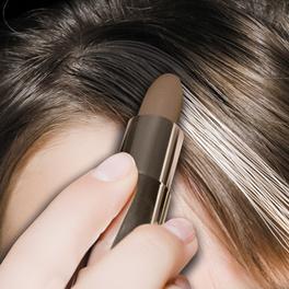 Crayon anti-cheveux gris, châtain foncé