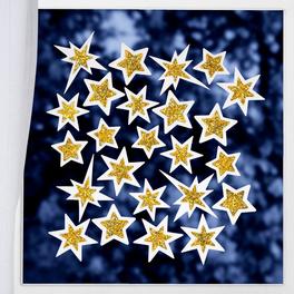 Décor de fenêtre 24 étoiles