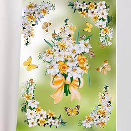 """Décor de fenêtre """"Narcisses"""""""