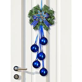 Décoration de Noël pour porte, à suspendre