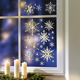 Décoration de fenêtre Ciel étoilé