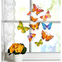 Décoration de fenêtre Papillons