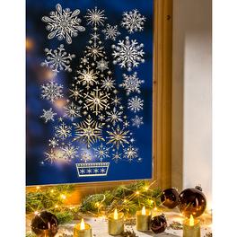 Décoration de fenêtre Sapin de Noël