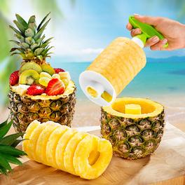 Découpe-ananas, vert-blanc