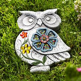 Dalle en pierre décorative Hibou