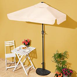 Demi-parasol, naturel