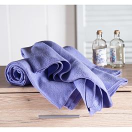 Drap de bain en microfibre, violet