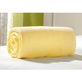 Drap-housse, jaune