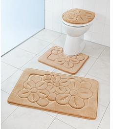 Ensemble 3 pièces salle de bains, beige