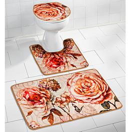 Ensemble salle de bains Roses