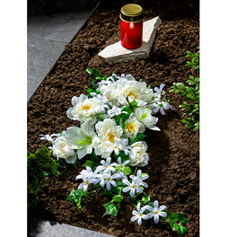 Gerbe à fleurs blanches