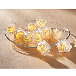 Guirlande de roses lumineuse