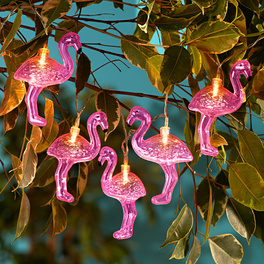 Guirlande lumineuse Flamants roses