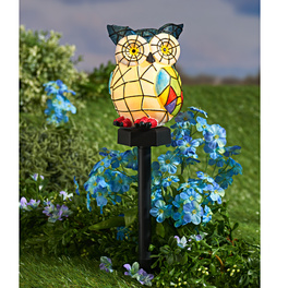 Hibou solaire Tiffany