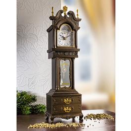 Horloge avec balancier et musique