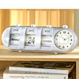 Horloge avec calendrier