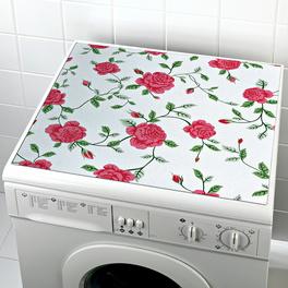 Housse pour lave-linge Roses