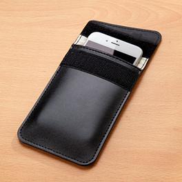 Housse pour téléphone mobile, noir