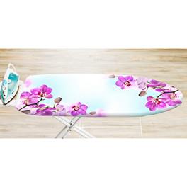 """Housse pour table à repasser """"Orchidées"""""""
