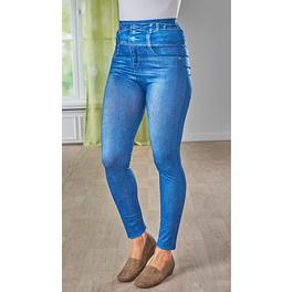 Jegging slim en jean, bleu