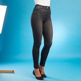 Jegging slim jean, noir