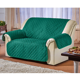 Jeté de canapé 2 places, vert