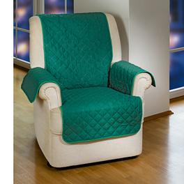 Jeté de fauteuil, vert