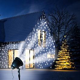 Lampe à LED Flocons de neige