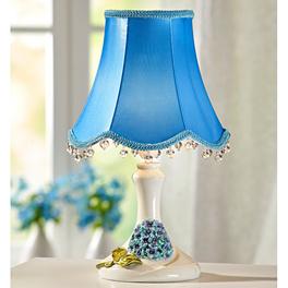 Lampe à LED, bleu/blanc
