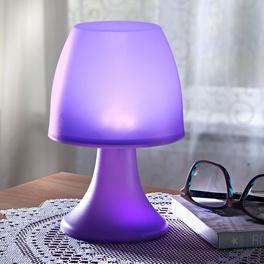 Lampe à poser 6 LED, violet