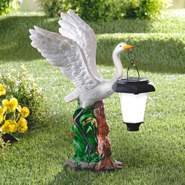 Lampe solaire Cygne