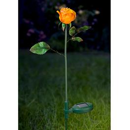 """Lampe solaire """"Rose"""", jaune"""