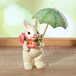 Lapin avec parapluie