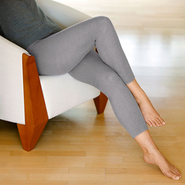 Leggings chauds, gris