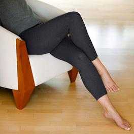 Leggings chauds, noir