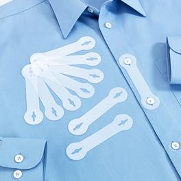 Lot de 10 fixations de cravates invisibles