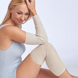 Lot de 2 bandages chauffants pour genoux