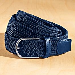 Lot de 2 ceintures marine/marine-blanc