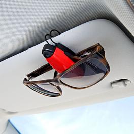 Lot de 2clips range-lunettes pour voiture