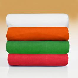Lot de 2 draps-housses, vert