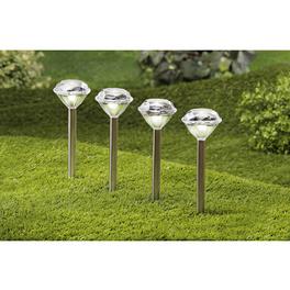 Lot de 2lampes solaires Diamant