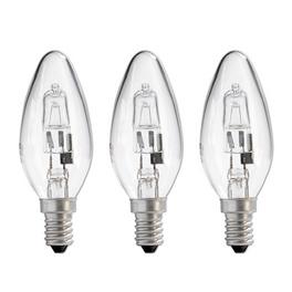 Lot de 3 ampoules halogènes