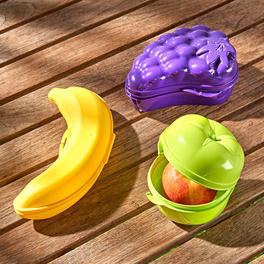 """Lot de 3boîtes fraîcheur """"Fruits"""""""